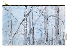 Trees In Winter Snow Carry-all Pouch