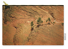 Trees On A Ledge Carry-all Pouch