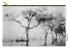 Trees Through The Window Carry-all Pouch by Celso Bressan