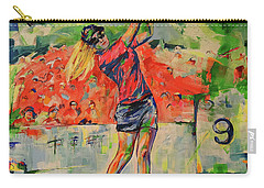 Treibschlag Vom 9 Tee  Drive From The 9th Tee Carry-all Pouch