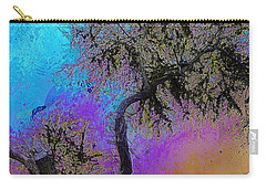 Carry-all Pouch featuring the photograph Trembling Tree by Lori Seaman