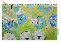 Tres Sheep Carry-all Pouch