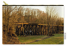 Tressel View Sunset  Carry-all Pouch by Betty Pauwels