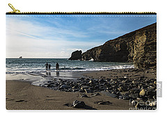 Carry-all Pouch featuring the photograph Trevellas Cove by Brian Roscorla