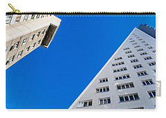 Carry-all Pouch featuring the photograph Triangle Modern Building by John Williams