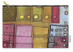 Geometric I Carry-all Pouch by Sandra Church
