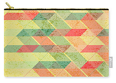 Triangles Pattern Carry-all Pouch