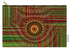 Tribal Drape Carry-all Pouch by Thibault Toussaint