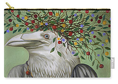 Tribal Nature Carry-all Pouch by Leah Saulnier The Painting Maniac