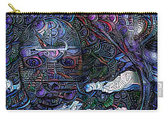 Tribal Ornamets Carry-all Pouch