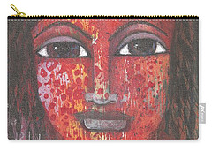 Tribal Woman Carry-all Pouch