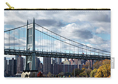 Triboro Bridge In Autumn Carry-all Pouch