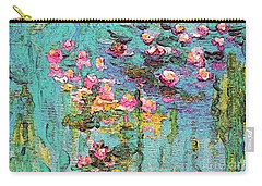 Tribute To Monet II Carry-all Pouch by Holly Martinson