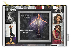 Tribute Whitney Houston One Moment In Time Carry-all Pouch