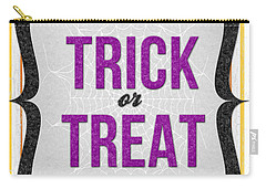 Trick Or Treat- Art By Linda Woods Carry-all Pouch