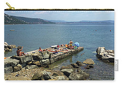 Trieste Miramare Beach Carry-all Pouch