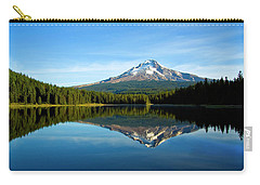 Trillium Lake Mt Hood Fall Carry-all Pouch