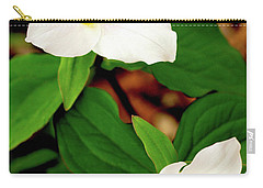 Trilliums Carry-all Pouch