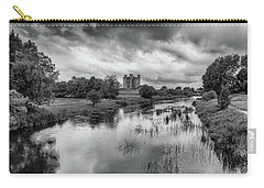 Trim Castle And The River Boyne Carry-all Pouch by Martina Fagan