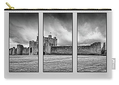 Trim Castle Triptych  Carry-all Pouch by Martina Fagan