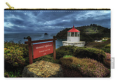 Carry-all Pouch featuring the photograph Trinidad Memorial Lighthouse by James Eddy
