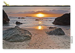 Trinidad State Beach Sunset Carry-all Pouch