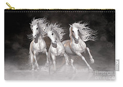 Trinity Horses Neutrals Carry-all Pouch by Shanina Conway