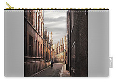 Carry-all Pouch featuring the photograph Trinity Lane Cambridge by Gill Billington