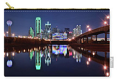 Trinity River And Pond Carry-all Pouch by Frozen in Time Fine Art Photography