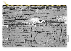 Trio Of Cranes Carry-all Pouch