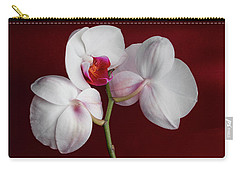 Trio Of Orchids Carry-all Pouch