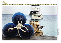 Carry-all Pouch featuring the photograph Triple Bumpers by Jean Noren