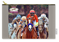Triple Crown Winner Justify 2 Carry-all Pouch