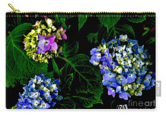 Carry-all Pouch featuring the photograph Triple Hydrangia In Spring by Marsha Heiken