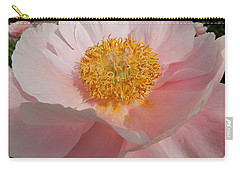 Triple Layer Pink Poppy Carry-all Pouch
