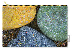 Carry-all Pouch featuring the photograph Triplet by Skip Hunt