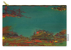 Triptych 3 Carry-all Pouch by Frances Marino