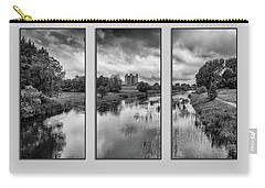 Triptych Trim Castle 2 Carry-all Pouch by Martina Fagan