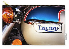 Triumph Motorcyle Carry-all Pouch