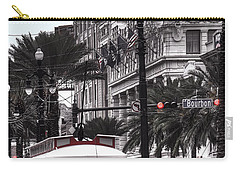 Trolley On Bourbon And Canal  Carry-all Pouch
