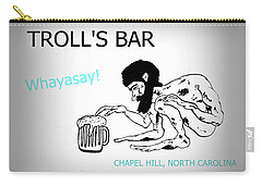 Troll's Bar Chapel Hill Nc Carry-all Pouch