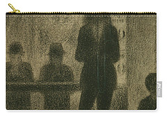 Trombonist  Carry-all Pouch by Georges-Pierre Seurat