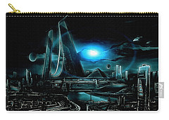 Tron Revisited Carry-all Pouch
