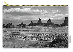 Trona Pinnacles Peaks Carry-all Pouch by Marius Sipa