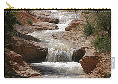 Carry-all Pouch featuring the photograph Tropic Creek by Marie Leslie
