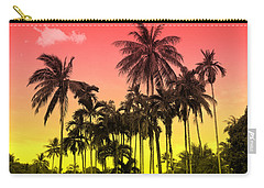 Tropical 9 Carry-all Pouch by Mark Ashkenazi