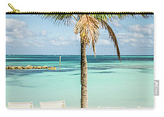 Tropical Bahamas Beach Carry-all Pouch