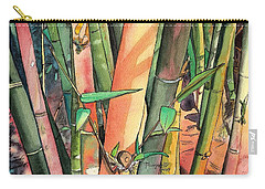 Tropical Bamboo Carry-all Pouch