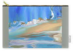 Tropical Beach Abstract Carry-all Pouch