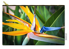 Carry-all Pouch featuring the photograph Tropical Closeup by T Brian Jones